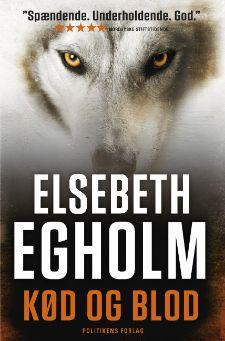 """Elsebeth Egholms 8. bog i Rina-serie """"Kød og blod"""""""